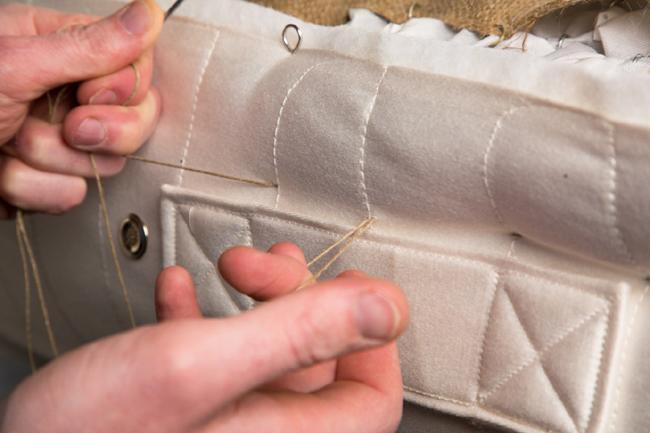 Dartmoor Beds Stitching