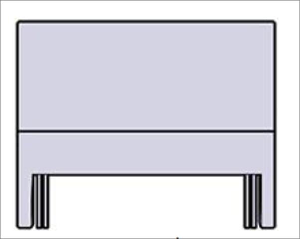 Relyon Slim Headboard