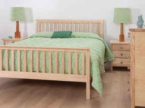 Bampton Bedstead with Vertical Bars and Footboard