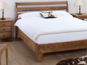 Bourton Bedstead with Horizontal Bars