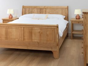 Bourton Panelled Bedstead with Footboard
