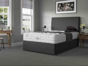 Relyon Luxury Wool 2150 Bed and August Headboard